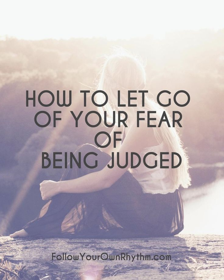 We all get judged by other people. The key is not to try to avoid being judged, but to overcome the FEAR of being judged. In this blog, learn how you can do that.--personal growth | rejection | pain | spiritual growth | acceptance | letting go | trust