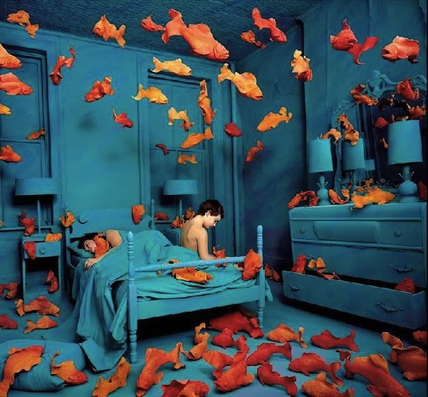 Sandy SkoglundArtists, Revenge, Sandyskoglund, Dreams, Colors, Blue Room, Sandy Skoglund, Photography, Goldfish