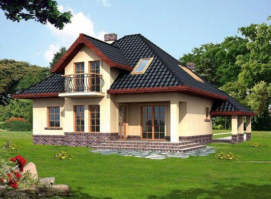 Proiect casa pentru familii cu 4 membri