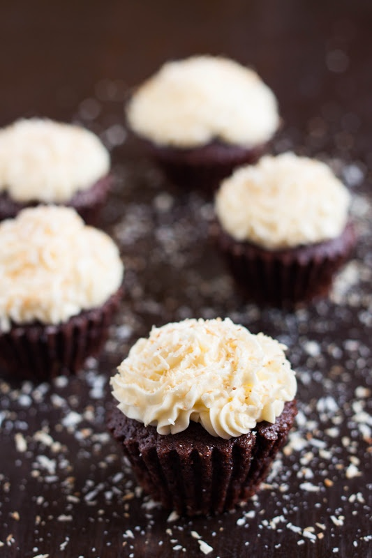 Mocha Coconut Cupcakes | Cupcakes and Muffins | Pinterest