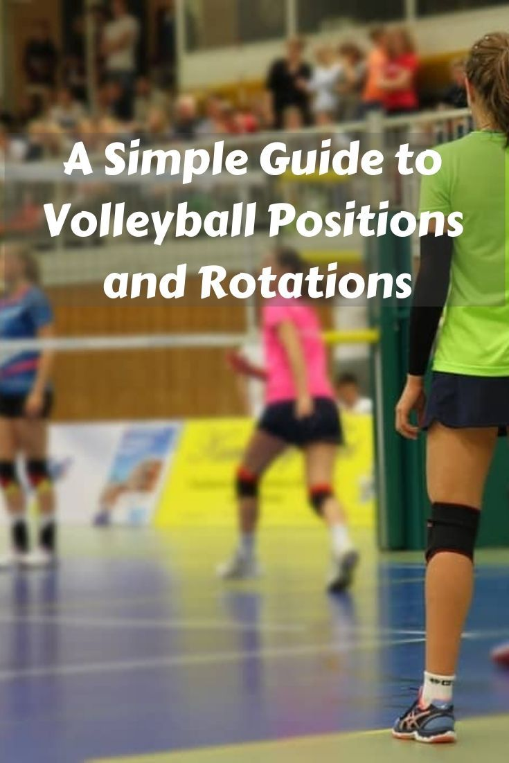 A Simple Guide To Volleyball Positions And Rotations Volleyball Positions Coaching Volleyball Youth Volleyball