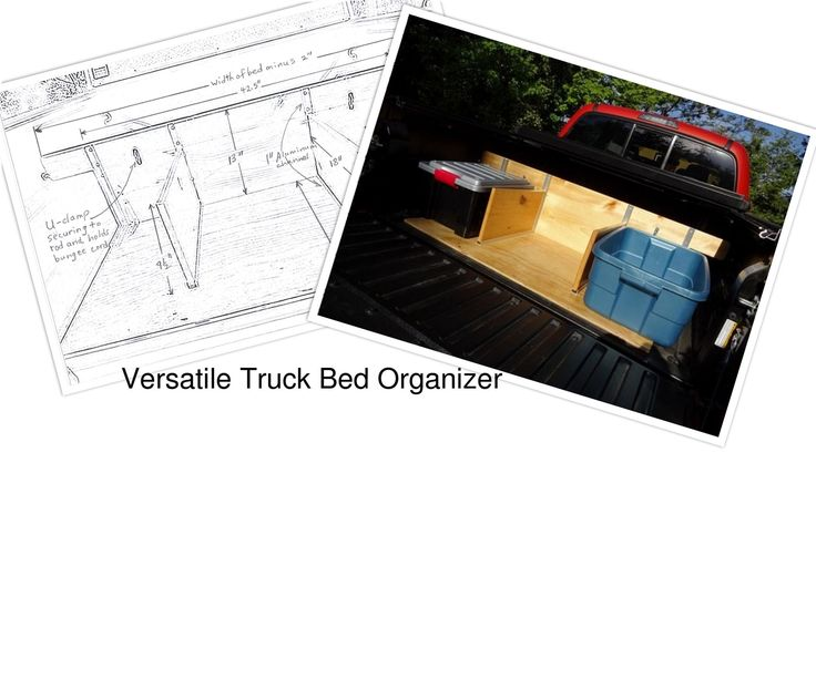 How to Build a Versatile and Adjustable Truck Bed OrganizerGotta truck? Who doesn't need a truck bed organizer or a storage system that keeps smaller items from rolling around in the bed of the truck and out of reach?I know there are numerous iterations of this build but none, that I have seen, meet my needs for everyday truck bed organization. I am not in the construction trades and so purchasing a locking box or building a sliding drawer system was not what I was looking for. I needed…