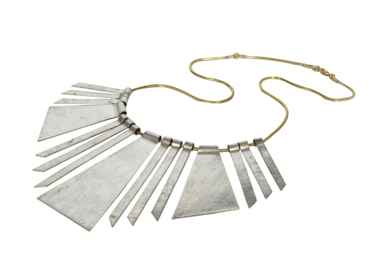 Cola De Ave tribal, statement necklace