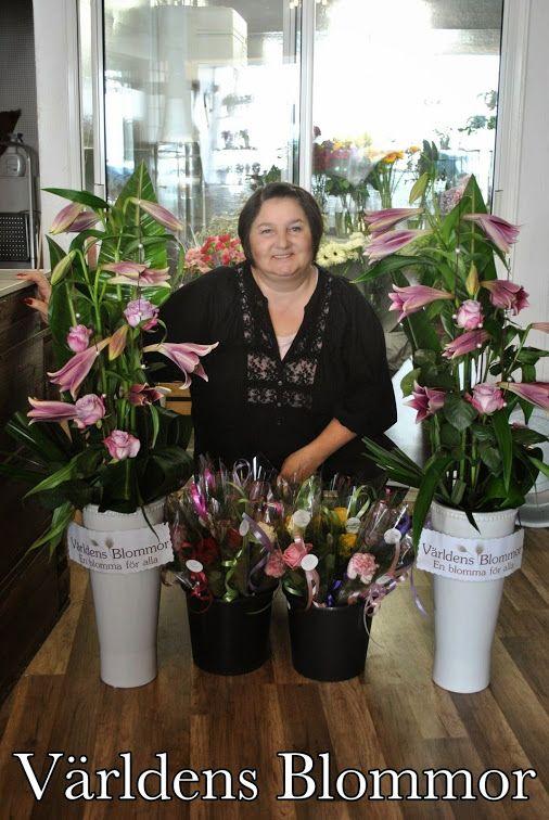 Världens blommor sponsrar VäL:s projekt ikväll 20/03/2014 på teatern. Alla blommor och arrangemang är gjorda av underbart duktiga Irena.  Här kan ni läsa mer om VäL: http://viarlandskrona.wordpress.com/
