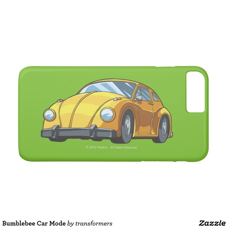 Bumblebee Car Mode iPhone 7 Plus Case #Transformers #autobot #robots #iphone #Samsung #phone #case #cover #sleeve