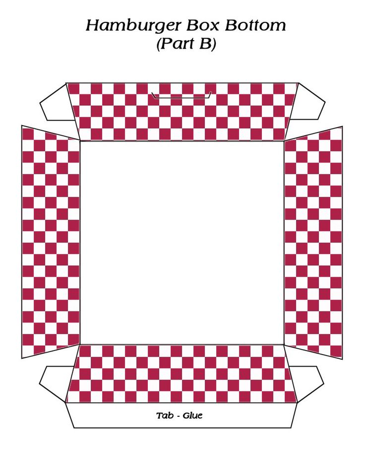 Hamburger Box Part 2 .... free to use & free to share <3