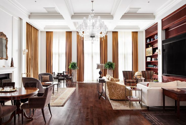Inside the Harold S. Vanderbilt Sky Suite at the InterContinental New York Barclay Hotel