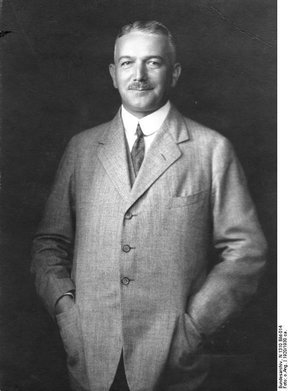 Konstantin von Neurath. 1920.