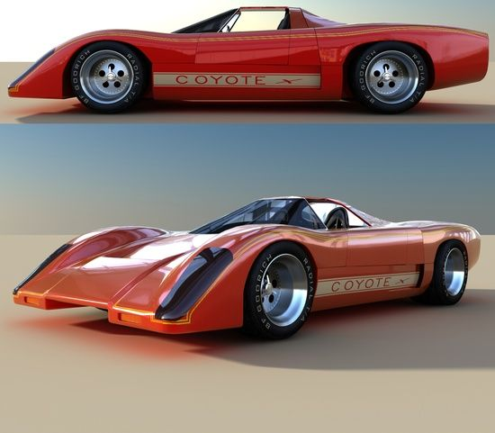 """Coyote X"" A Manta Montage Kit Car, Which Is Based Of The"