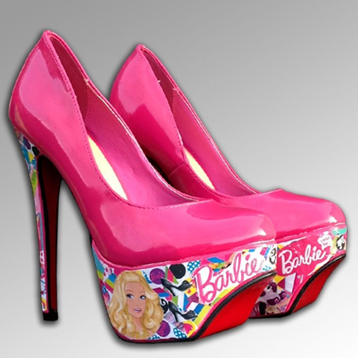 Womens Fashion Shoes Of Pink Barbie