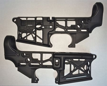 skeleton+ar15+lowers | Skeletonized AR-15 Lower Receiver