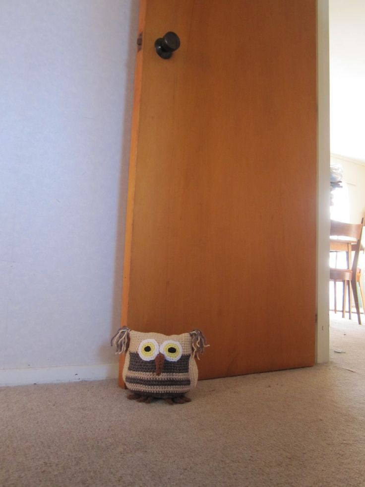 Up sized owl door stops!