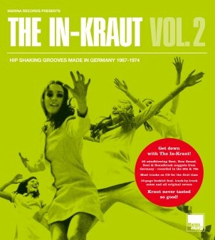 Various · The In-Kraut Vol. 2 - Hip Shaking Grooves Made in Germany 1967-1974