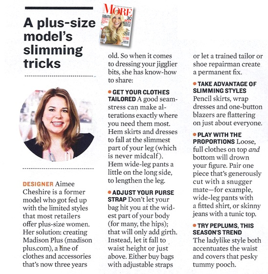 Plus Size Tips from a Plus Size Model-May2012