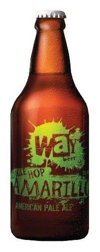 Cerveja Way American Pale Ale Single Hop Amarillo, estilo American Pale Ale, produzida por Cervejaria Way, Brasil. 5.2% ABV de álcool.