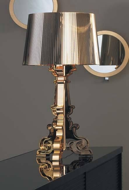 Lampada Bourgie Kartell Metallizzato