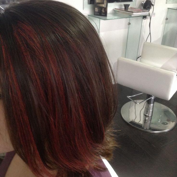 Red Hairchalk