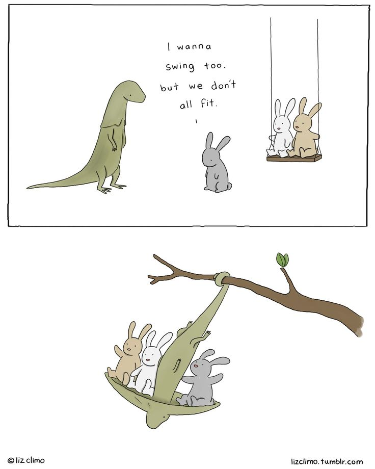 more fun than taking turns by Liz Climo