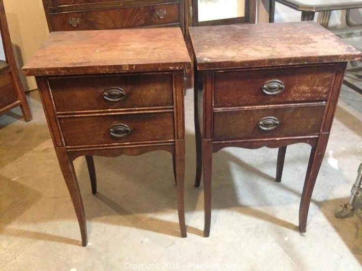 MaxSold - Auction: Odessa Downsizing Online Auction - Antique Night Stands