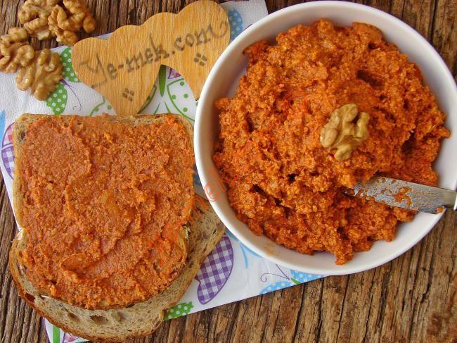 Kahvaltılık Salçalı Peynir Ezmesi Resimli Tarifi - Yemek Tarifleri
