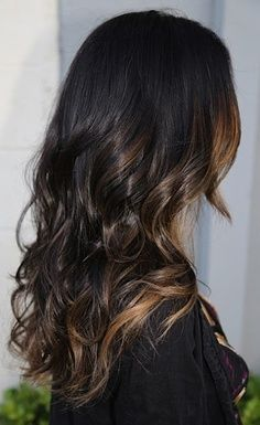 """This would actually kinda make me want to do the ombré thing...maybe. If I can get it to look subtle and not like outrageous """"skunk"""" hair, hahaha."""