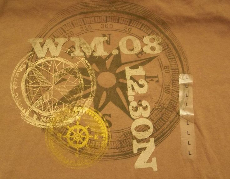 West Marine WM.08 12.30N T-Shirt Adult L Large New with Tags #WestMarine