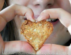Un condominio in cucina: Cuore batticuore: biscottini ai fiocchi d'avena