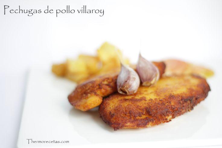 Pechugas de pollo villaroy - http://www.thermorecetas.com/2014/03/15/pechugas-de-pollo-villaroy/