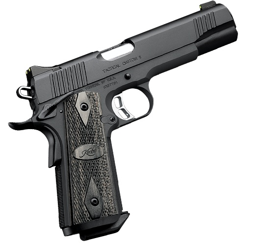 Kimber 1911 Tactical Custom II - A refined lightweight, full-size pistol for duty and personal defense.