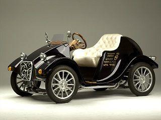 レトロな電気自動車