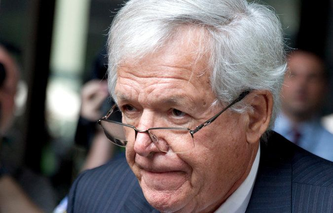 Dennis Hastert Reaches Plea Deal in Bank Withdrawals Case - The New York Times