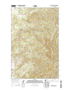 ~ Mount Kit Carson WA topo map, 1:24000 scale, 7.5 X 7.5 Minute, Current, 2014