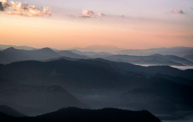 Shape of Earth - Bucovina . Romania