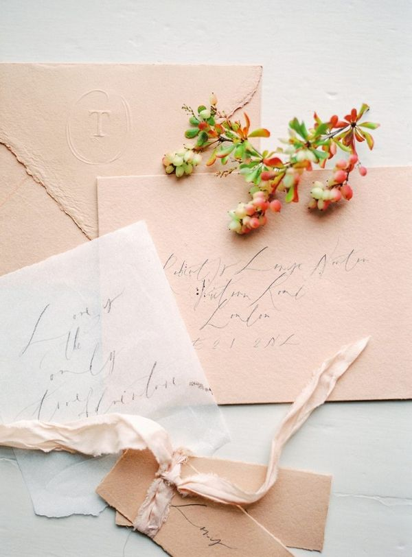 Calligraphy stationery fine art wedding inspiration | Irena K Photography