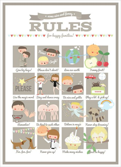 Fun Family Rules for Kids