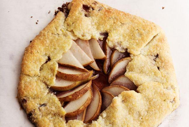 Concord Grape and Pear Galette | Recipe