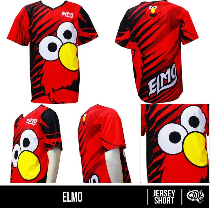 kaos jersey-Elmo Bahan: dry-fit polyester printing: sublimasi untuk pemesanan:543d3dbb qdr online shop WA/LINE: 081222970120