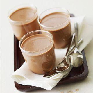 Yaourts maison au chocolat