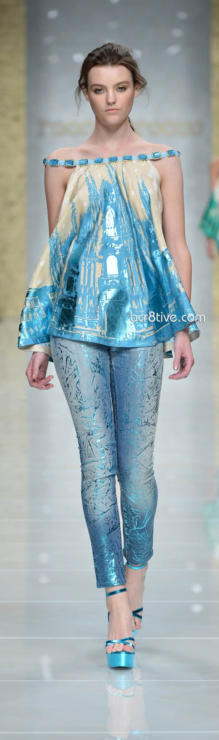 Roccobarocco Spring Summer 2013 Ready To Wear - Luv the Jeans ♥