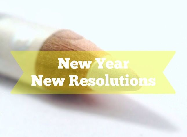 The New Year Project: New Year, New Resolutions