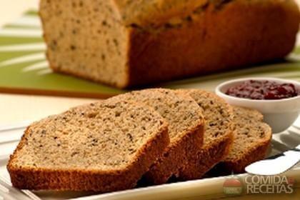 Receita de Pão integral em receitas de paes e lanches, veja essa e outras receitas aqui!