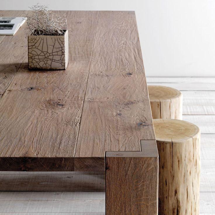 Oltre 25 fantastiche idee su tavoli in legno rustico su - Tavoli grezzi in legno ...