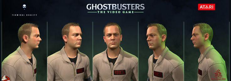 ArtStation - Ghostbusters the Video Game - Rookie, Ian McIntosh