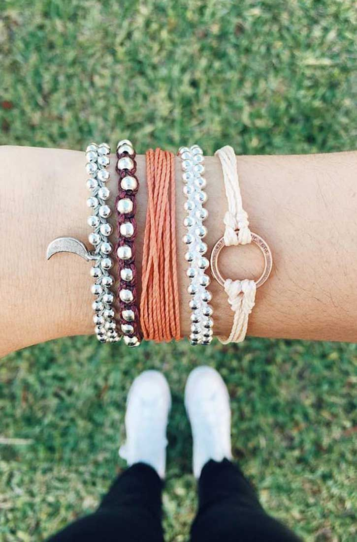 Love this stack | Pura Vida Bracelets
