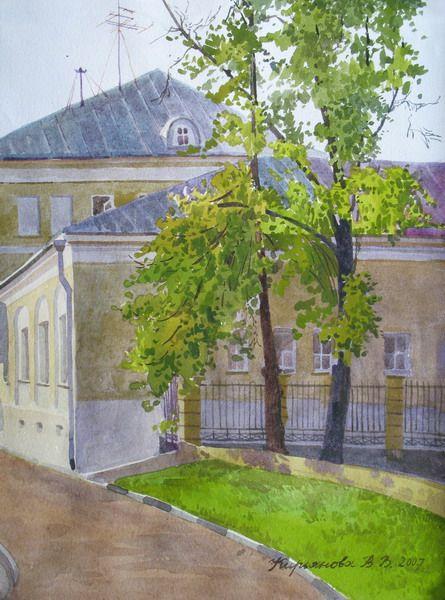Виктория Кирьянова.Москва. Гороховский переулок