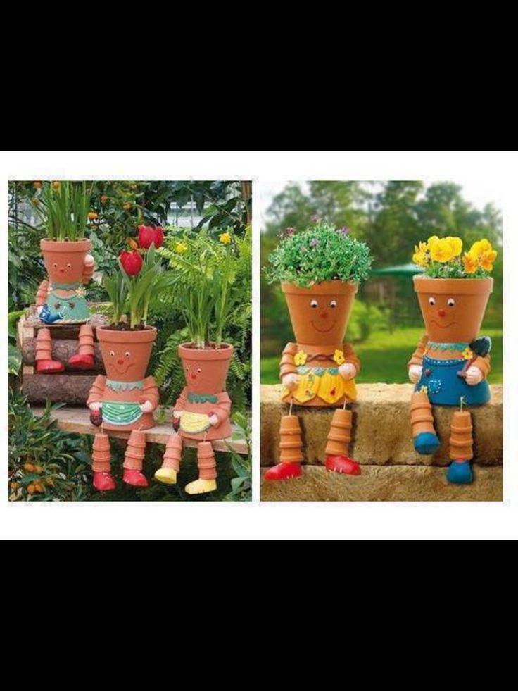 Flower pot people!