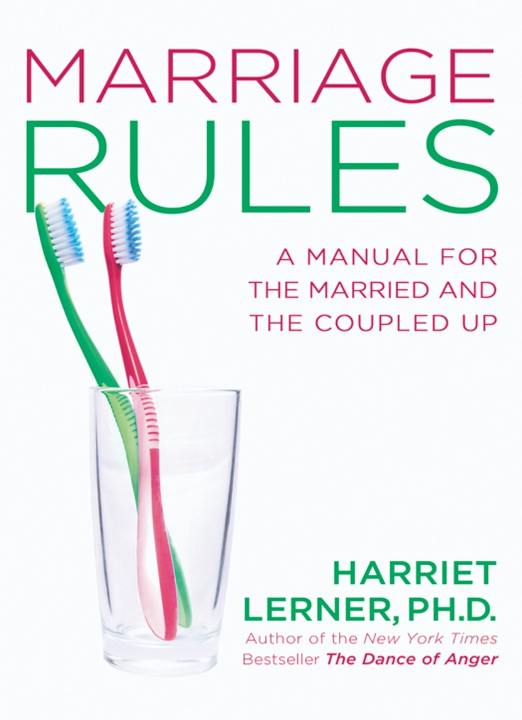 49 best couples counseling images on pinterest psychology marriagerules by harriet lerner fandeluxe Image collections