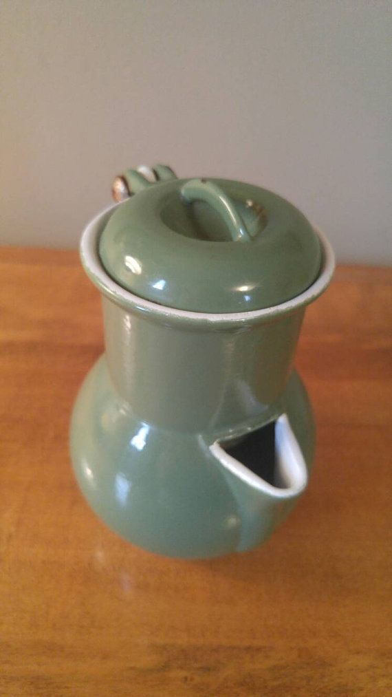 Hey, I found this really awesome Etsy listing at https://www.etsy.com/ca/listing/387229576/rare-vintage-moss-green-enamel-cast-iron
