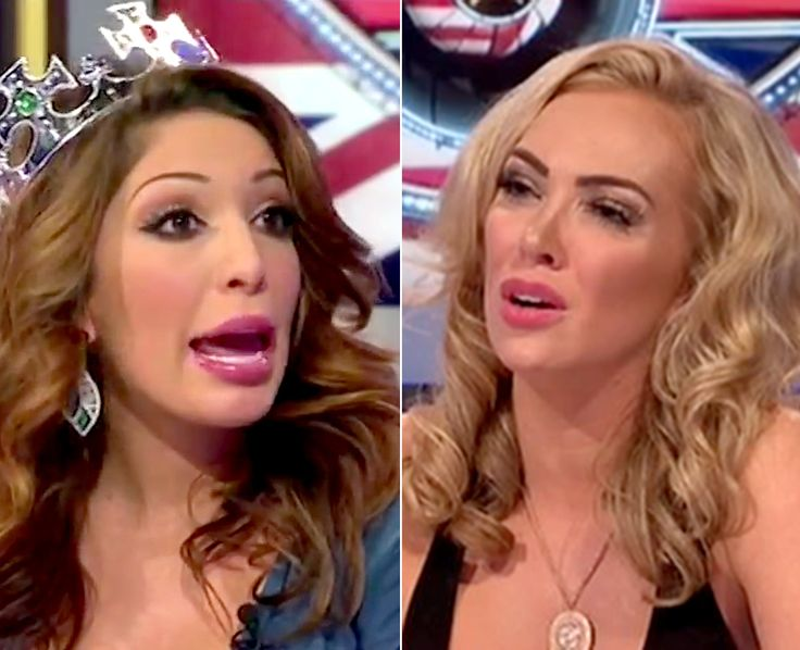 Farrah Abraham got into a physical fight on Celebrity Big Brother UK on Tuesday, Sept. 22, that caused the show to briefly go off the air and sent one contestant to the hospital -- watch the insane fight now!