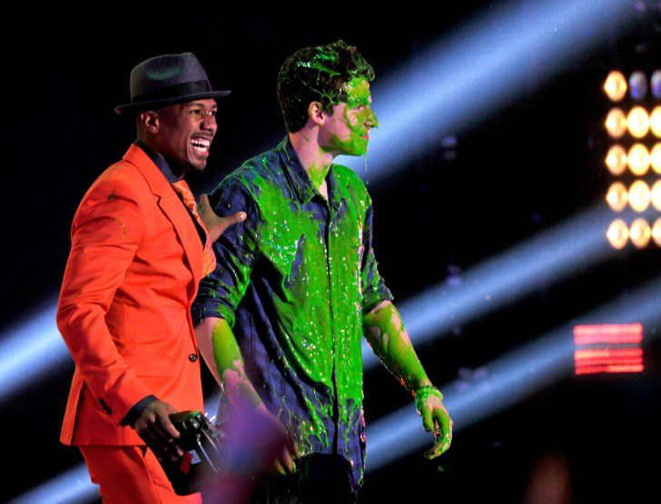 Pin for Later: The Best Snaps From the Kids' Choice Awards Nick Cannon and Shawn Mendes